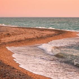 Отдых в Крыму. Бакальская коса
